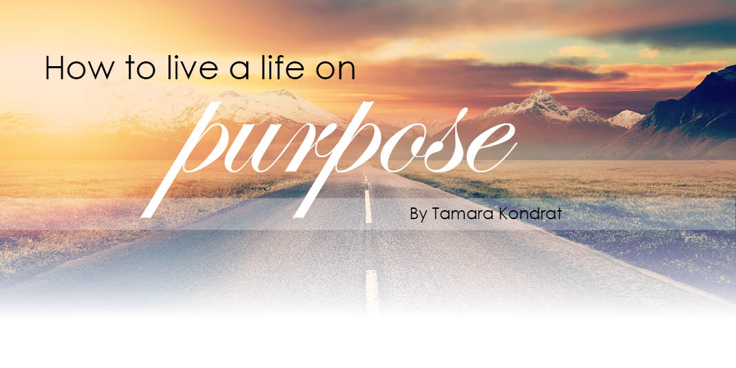 How to Live a life on Purpose - Header